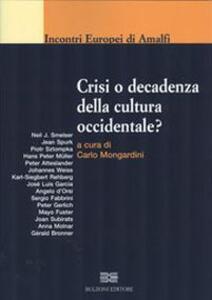Crisi o decadenza della cultura occidentale? - copertina