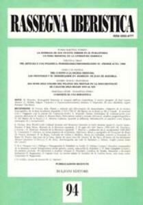 Rassegna iberistica. Vol. 94