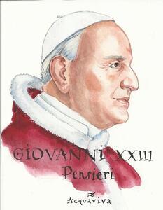 Papa Giovanni XXIII. Pensieri