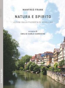 Writersfactory.it Natura e spirito. Lezioni sulla filosofia di Schelling Image