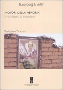 Antondemarirreguera.es I motori della memoria. Le piemontesi in Argentina Image
