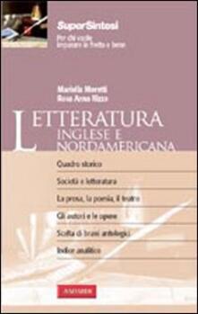 Premioquesti.it Letteratura inglese e nordamericana Image