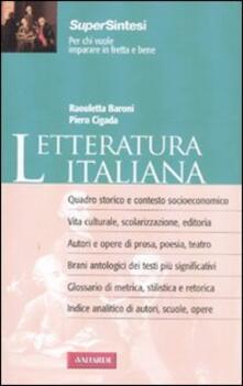 Listadelpopolo.it Letteratura italiana Image