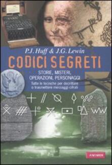 Listadelpopolo.it Codici segreti. Storie, misteri, operazioni, personaggi Image