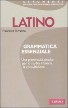Camfeed.it Latino. Grammatica essenziale Image