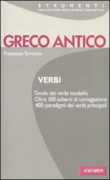 Criticalwinenotav.it Greco antico. Verbi Image