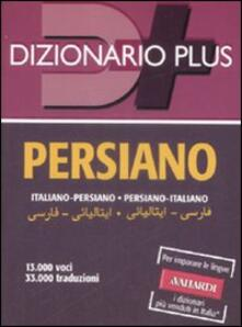 Antondemarirreguera.es Dizionario persiano. Italiano-persiano, persiano-italiano Image