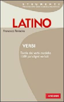 Fondazionesergioperlamusica.it Latino. Verbi Image