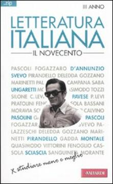 Listadelpopolo.it Letteratura italiana. Vol. 4: Il Novecento. Image