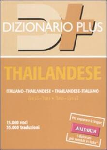 Dizionario thailandese. Italiano-thailandese, thailandese-italiano.pdf