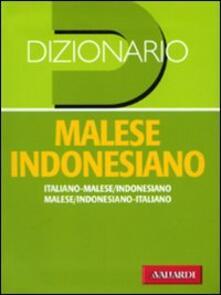 Daddyswing.es Dizionario malese indonesiano. Italiano-malese indonesiano, malese indonesiano-italiano Image