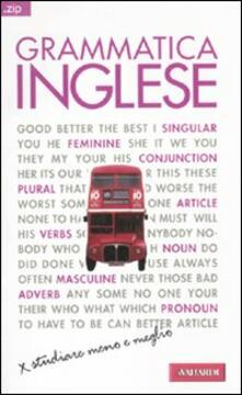 Radiospeed.it Grammatica inglese. Ediz. bilingue Image
