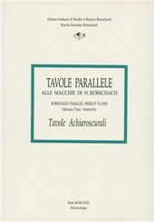 Tavole parallele alle macchie di hermann rorschach vol 3 parisi salvatore pes patrizia - Psicologia tavole di rorschach ...