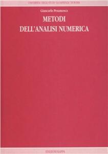 Metodi dell'analisi numerica
