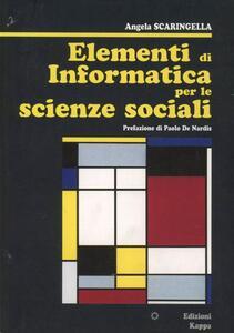 Elementi di informatica per le scienze sociali