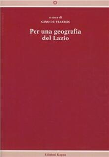 Nordestcaffeisola.it Per una geografia del Lazio Image