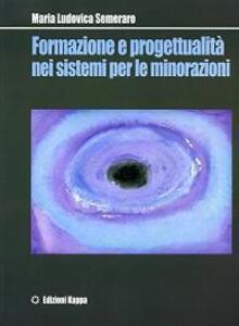 Formazione e progettualità nei sistemi per le minorazioni