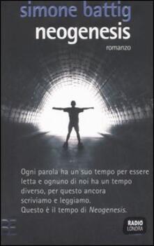 Neogenesis - Simone Battig - copertina