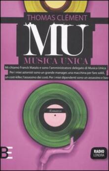 Musica Unica - Thomas Clément - copertina