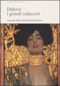 I gioielli indiscreti - Denis Diderot - copertina