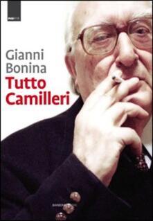 Tutto Camilleri - Gianni Bonina - copertina