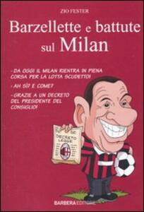 Barzellette e battute sul Milan - Zio Fester - copertina