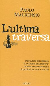 L' ultima traversa - Paolo Maurensig - copertina