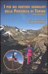 I più bei sentieri segnalati della provincia di Torino. 62 escursioni in montagna - Furio Chiaretta - copertina