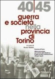 1940-45 guerra e società nella provincia di Torino - copertina