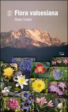Flora valsesiana - Mario Soster - copertina