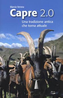 Capre 2.0. Una tradizione antica che torna attuale - Marzia Verona - copertina