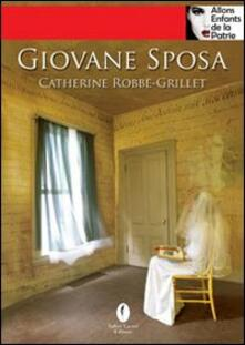 Giovane sposa - Catherine Robbe-Grillet - copertina