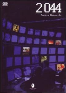 Duemilaquarantaquattro - Andrea Barsacchi - copertina