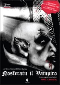 Nosferatu il vampiro. DVD - Friedrich W. Murnau - copertina