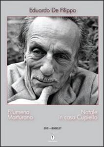 Filumena Marturano-Natale in casa Cupiello. 2 DVD - Eduardo De Filippo - copertina