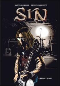 Sin. La graphic novel - Martin Blackmore - copertina