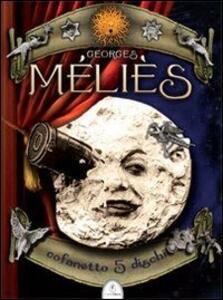 Il mago del cinema. 5 DVD. Cofanetto - Georges Méliès - copertina