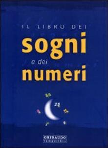 Il libro dei sogni e dei numeri - copertina