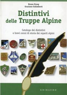 Distintivi delle truppe alpine. Catalogo dei distintivi. Ediz. illustrata.pdf