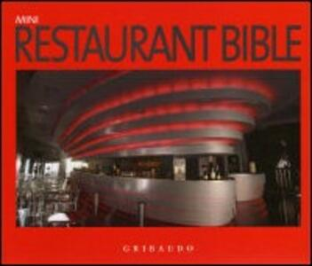 Restaurant bible - copertina