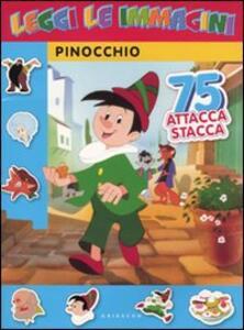 Pinocchio. leggi le immagini. Con adesivi - copertina