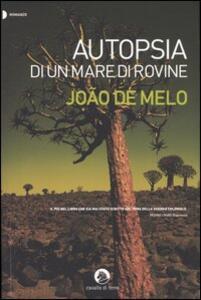 Autopsia di un mare di rovine - João De Melo - copertina