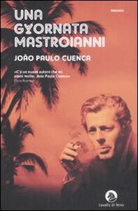 Una giornata Mastroianni - João Paulo Cuenca - copertina
