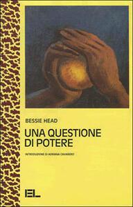 Una questione di potere - Bessie Head - copertina