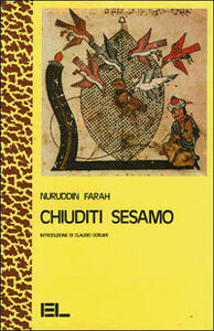 Chiuditi sesamo - Nuruddin Farah - copertina