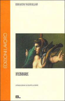 Febbre - Ibrahim Nasrallah - copertina