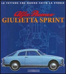 Alfa Romeo Giulietta Sprint - Giancarlo Catarsi - copertina