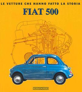 Fiat 500 - Elvio Deganello - copertina