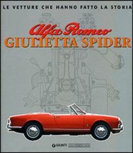 Alfa Romeo Giulietta Spider - Gaetano Derosa - copertina