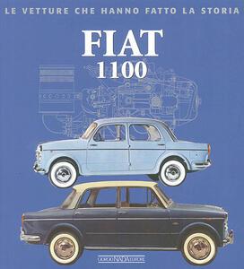 Fiat 1100 - Alessandro Sannia - copertina